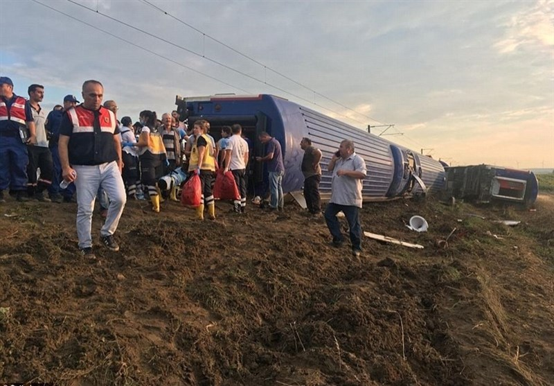 Photo of Turkey Train Crash: 24 Die, 318 Injured
