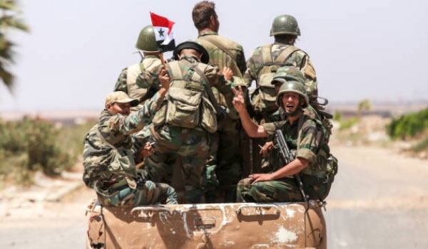 Photo of Syrian Army in Control of 70 Percent of Dara'a Province
