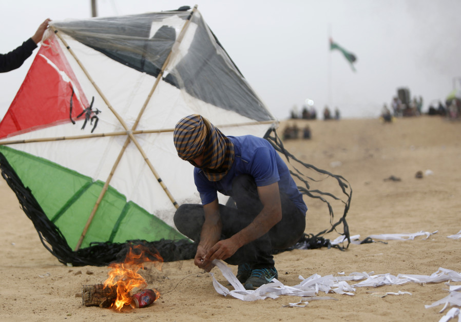 Photo of Balloons unleashed from besieged Gaza spark fires in Israeli locations