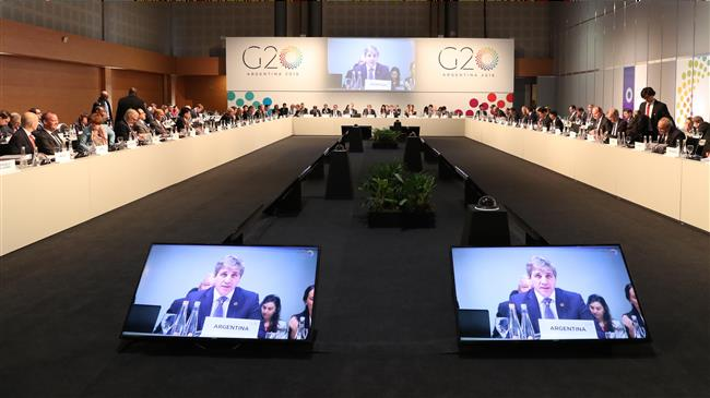 Photo of G20 finance ministers urge stepped-up dialog to end trade tensions