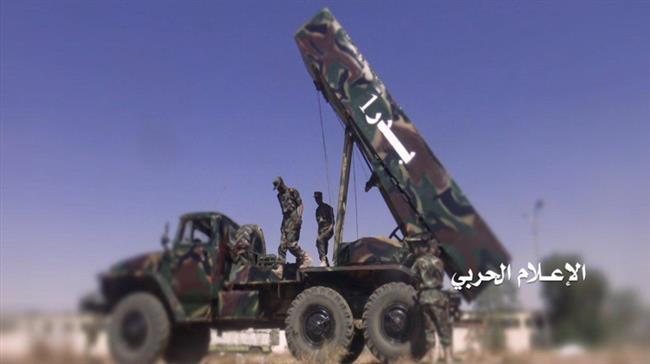 Photo of Yemeni forces fire missile at Jizan Airport in southwestern Saudi Arabia