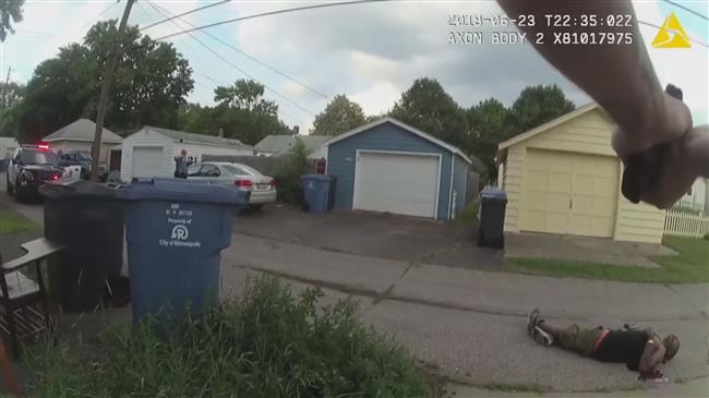 Photo of Disturbing clip shows cops killing suspect by unloading into his back