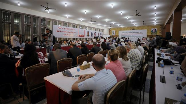 Photo of Kurdish delegation in Damascus for peace talks