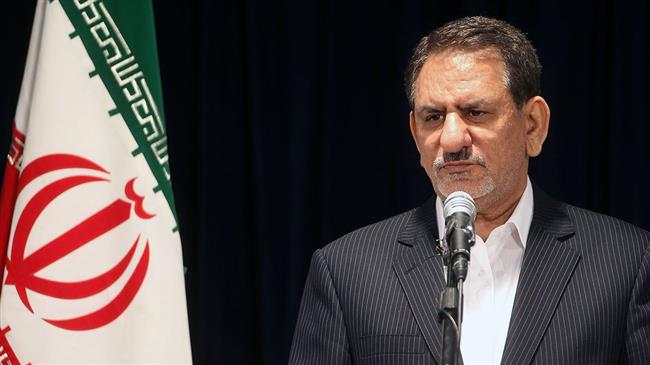 Photo of Iran first VP vows strong resistance against US economic war
