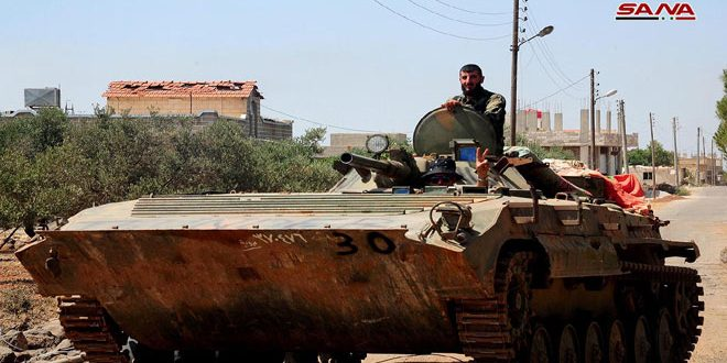 Photo of Syrian army raids Daesh sites in Yarmouk Basin, Daraa