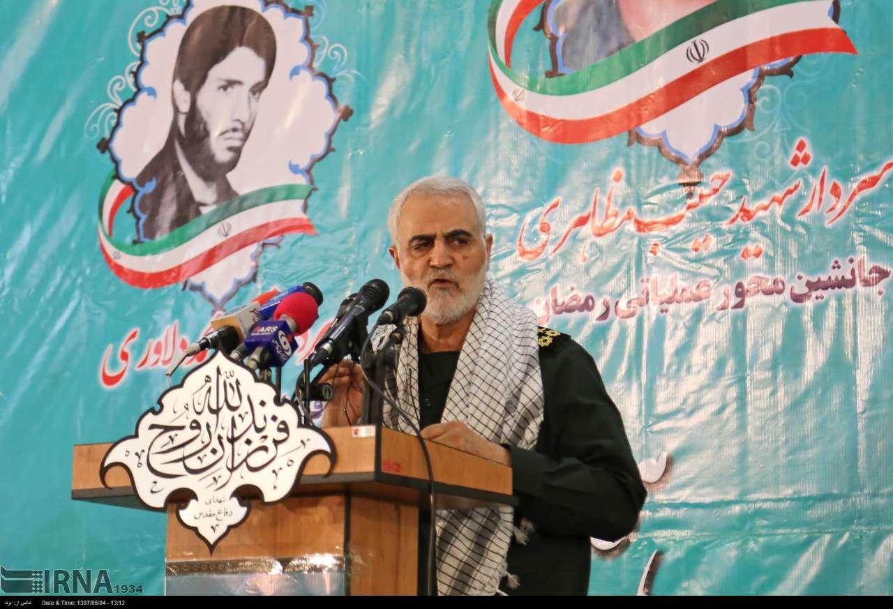 Photo of Gen. Soleimani: War on Iran means US annihilation