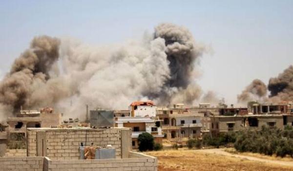 Photo of Huge Blast Kills Tens of People at Tahrir Al-Sham Base in Idlib