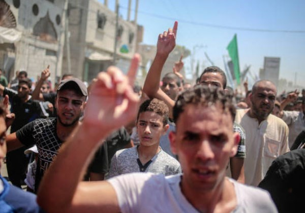 Photo of Photos- Funeral of Palestinian Martyred by Israeli Gunfire