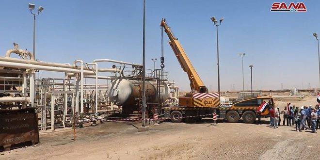 Photo of Syrian gov't restores two oil wells in Deir Ezzor