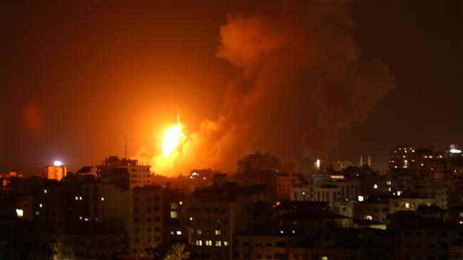 Photo of Terrorist israeli regime strikes Gaza Strip 140 times as fresh war looms