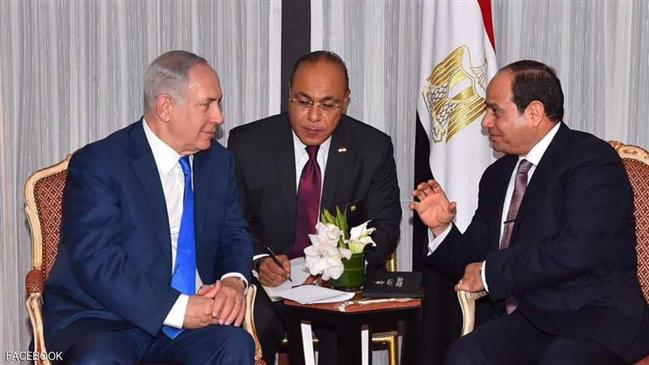 Photo of Zionist Netanyahu secretly met Sisi in May