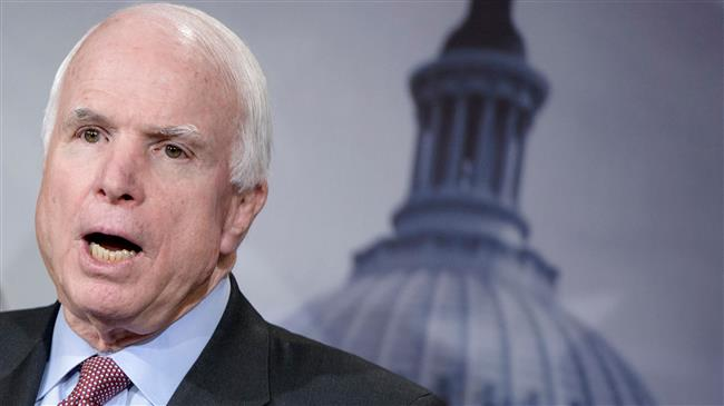 Photo of 'McCain was a 'mass murderer' and death doesn't change that'