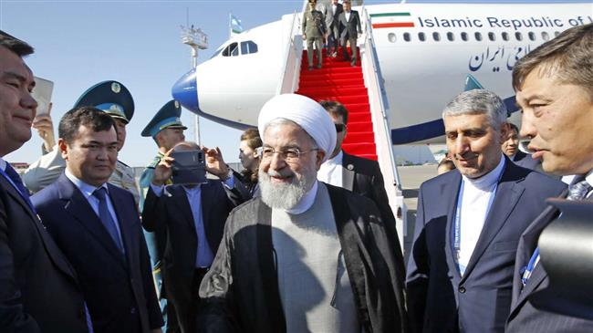 Photo of President Rouhani in Kazakhstan to sign landmark Caspian convention