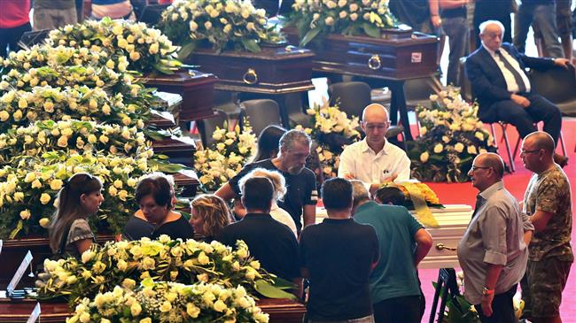 Photo of Italy holds funeral for bridge collapse victims