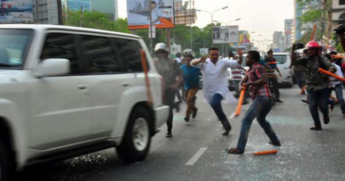 Photo of Satanic US envoy's motorcade comes under armed attack in Bangladeshi capital