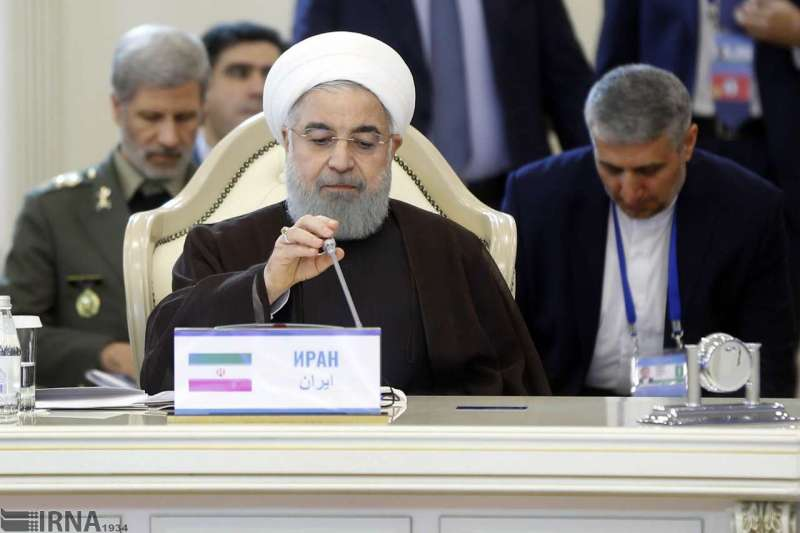 Photo of President Rouhani: No foreign force can frequent in Caspian Sea