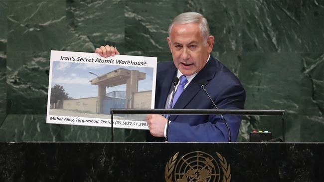 Photo of Butcher Netanyahu puts on new anti-Iran show at UN, repeats baseless nuclear claims