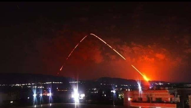 Photo of Syria says its air defense shoots down missiles coming from sea, targeting Latakia