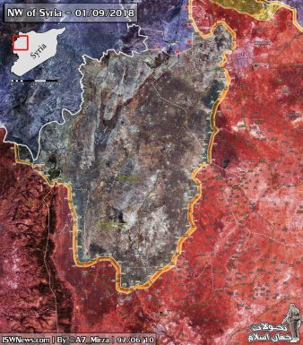 Photo of SYRIA: Map update of upcoming battle in northwest Syria