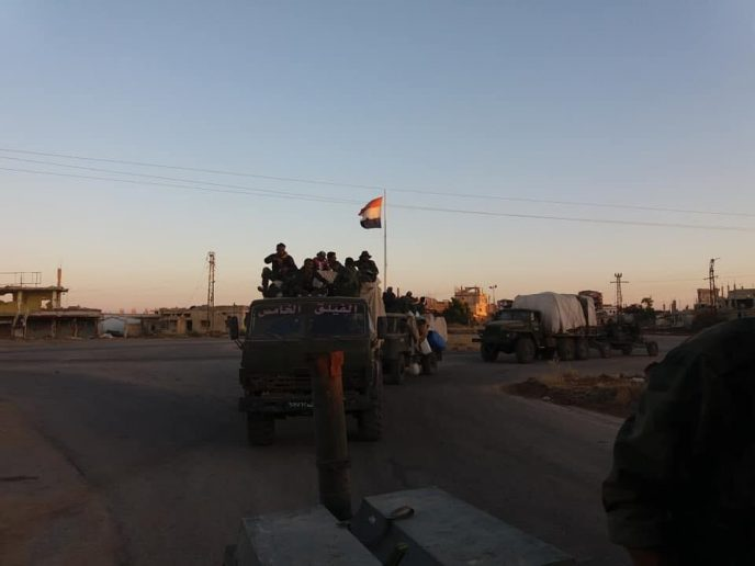 Photo of Two major Syrian Army divisions head north for upcoming offensive