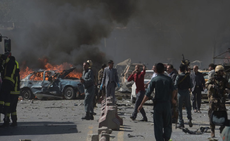 Photo of Dozens killed, over 100 injured in bomb attack in Afghanistan