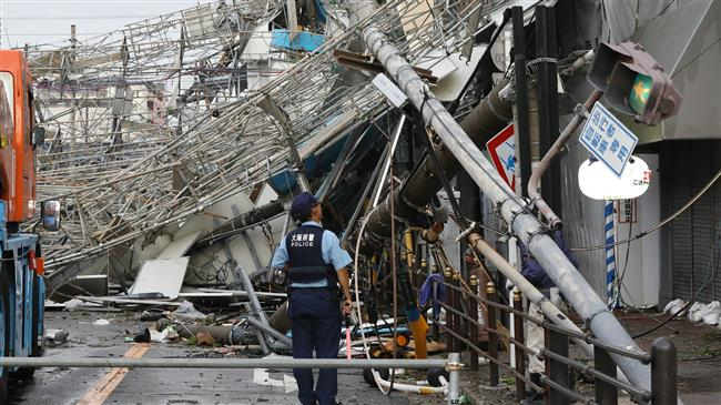 Photo of Death toll from powerful typhoon rising in Japan