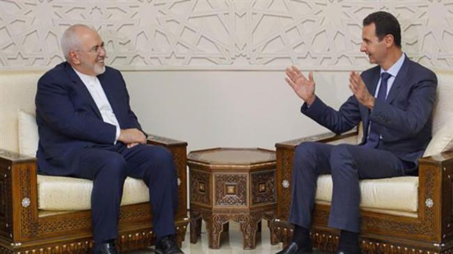 Photo of Zarif, Assad say Western pressure will fail to stop Iran-Syria terror fight