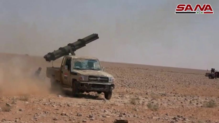 Photo of Syrian Army launches big counter-offensive against ISIS in east Homs
