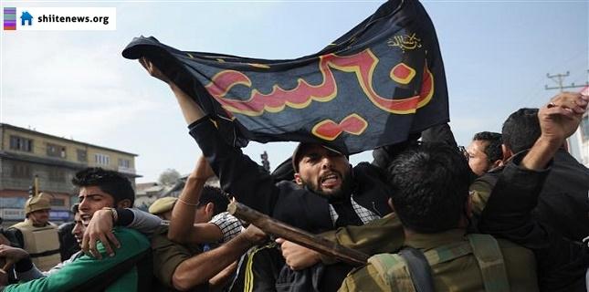 Photo of Indian Karbala: Indian regime attacks Muharram mourners in Kashmir