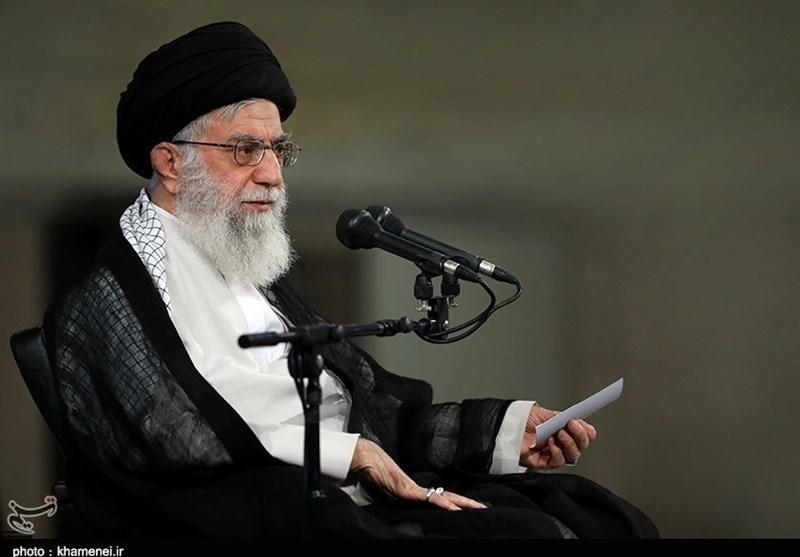 Photo of Leader of Islamic Ummah and Opressed Imam Ali Khamenei: Iran's Economic Woes Need Serious Decisions