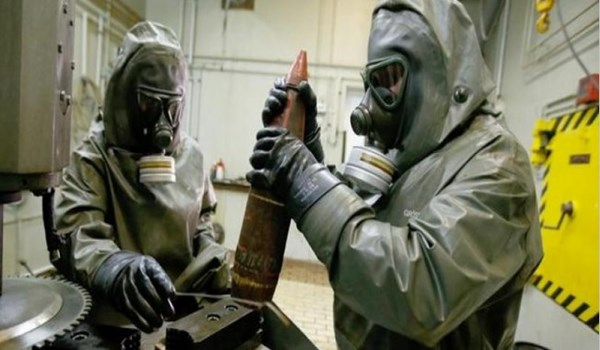 Photo of White Helmets, Terrorists Transfer Chemical Materials to New Location in Northwestern Syria
