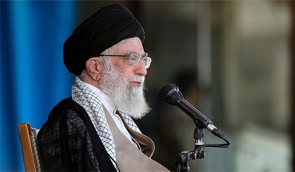 Photo of Leader of Islamic Ummah and Oppressed Imam Ali Khamenei: Iran to Win over Enemies' Propaganda Campaign
