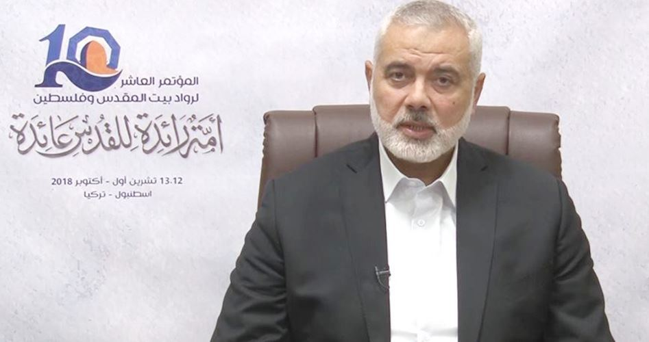 Photo of Haneyya: Several parties are making efforts to end Gaza siege