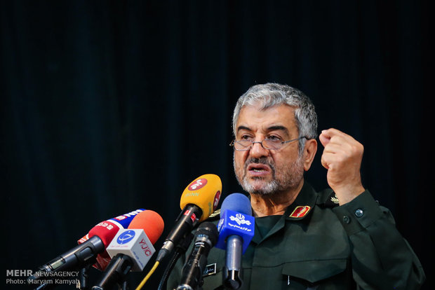 Photo of IRGC strong enough to defend ME in less than 12 minutes