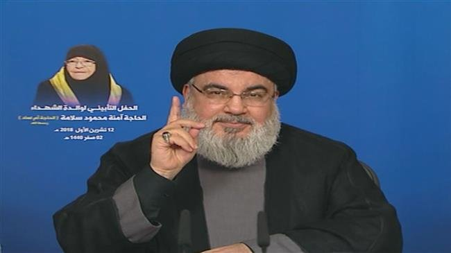 Photo of Trump using Iranophobia to sell American munitions to Arab states: Sayyed Nasrallah