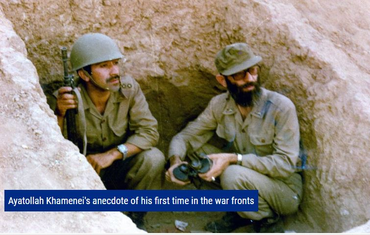 Photo of VIDEO: Leader of Islamic Ummah and Oppressed Imam Khamenei's anecdote of his first time in the war fronts