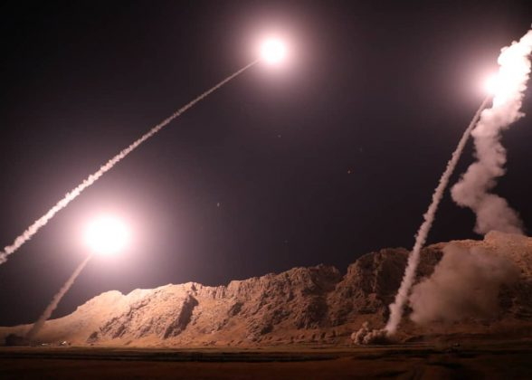 Photo of Iranian missile contained message to Israel, US, Saudi Arabia before hitting ISIS