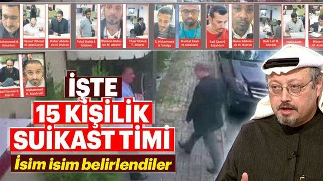 Photo of Turkish daily reveals identities of Saudis suspected of killing Khashoggi