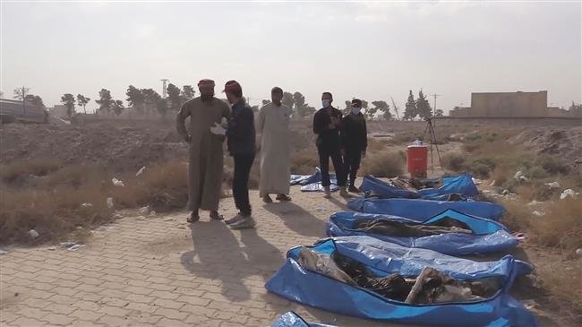 Photo of Around 1,500 bodies uncovered in Raqqa's largest mass grave to date