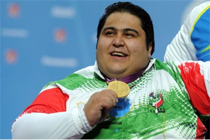 Photo of Iranian powerlifter breaks new records in Asian Para Games