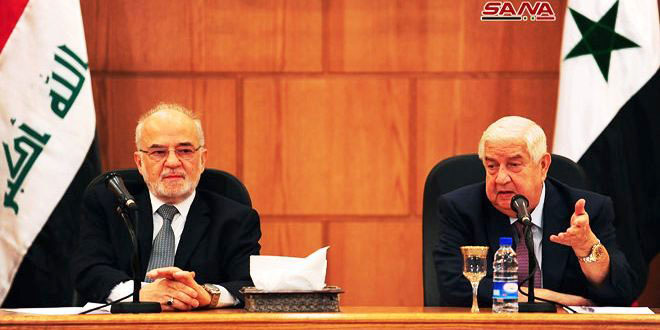 Photo of Al-Moallem lauds victory of Syria, Iraq in war on terrorism