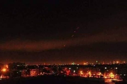 Photo of Update: Syrian military says several objects shot down over southwest Damascus