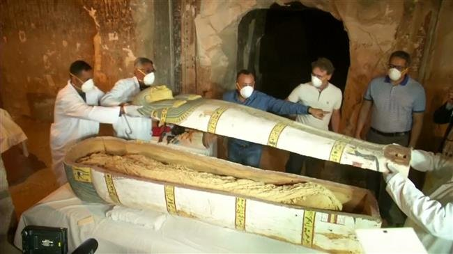 Photo of Ancient tomb unveiled in Egypt