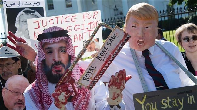 Photo of Trump, Riyadh worked hand in glove in Khashoggi murder: Saudi dissident