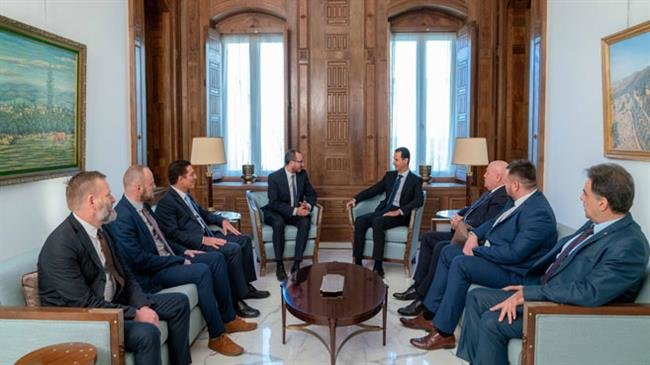 Photo of President Assad scolds Europe as Polish delegation visits Syria