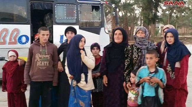 Photo of Syrian forces free all women, children held hostage by Daesh: SANA