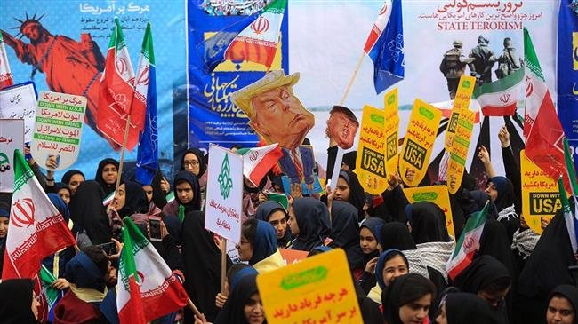 Photo of Iranians hold nationwide rallies to mark US embassy takeover