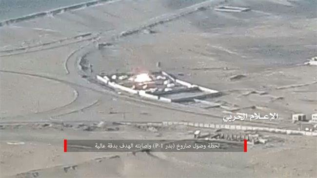 Photo of Yemeni forces fire high-precision Badr P-1 ballistic missile at base run by Saudi mercenaries: Report