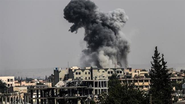 Photo of 30 civilians killed as Satanic US-led coalition warplanes strike eastern Syria