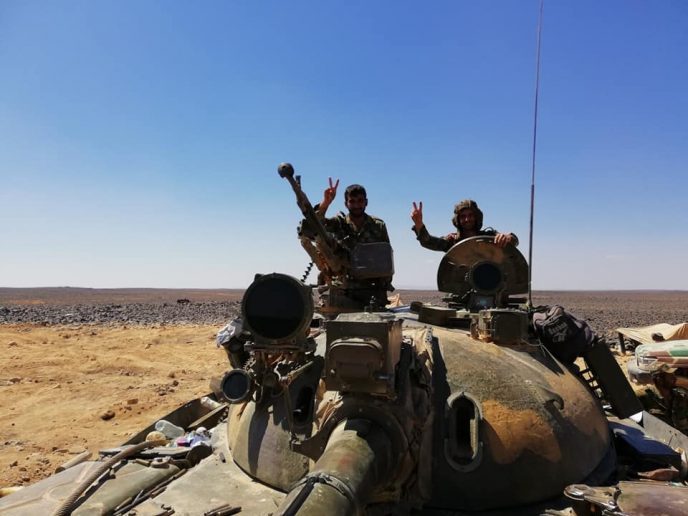 Photo of Syrian Army steps up assault as terrorists caught deploying more forces to Hama
